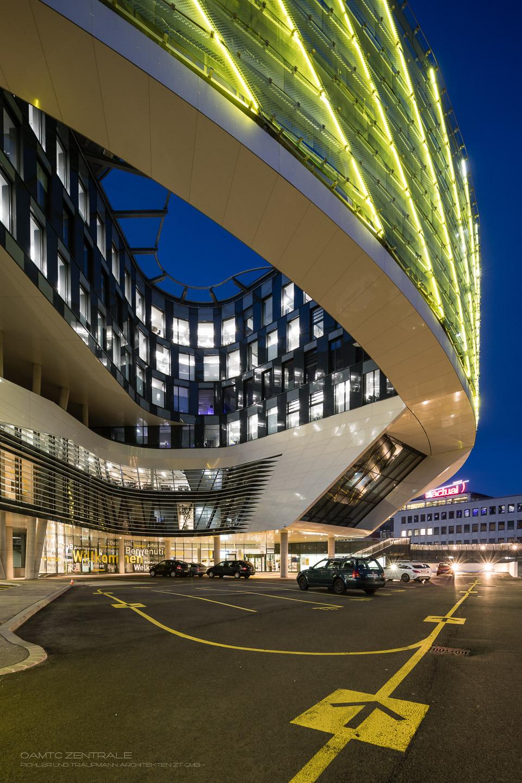ÖAMTC Zentrale in Wien, Architekten Pichler und Traupmann, Bild von MANFRED SODIA photography