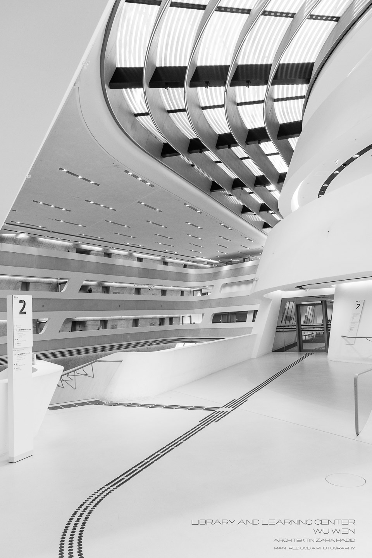 Learning Center der WU Wien, Architektin Zaha Hadid