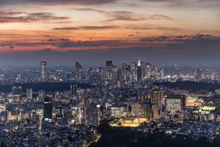 NiRappongi, Tokyo bei Nacht, Bild von MANFRED SODIA photography