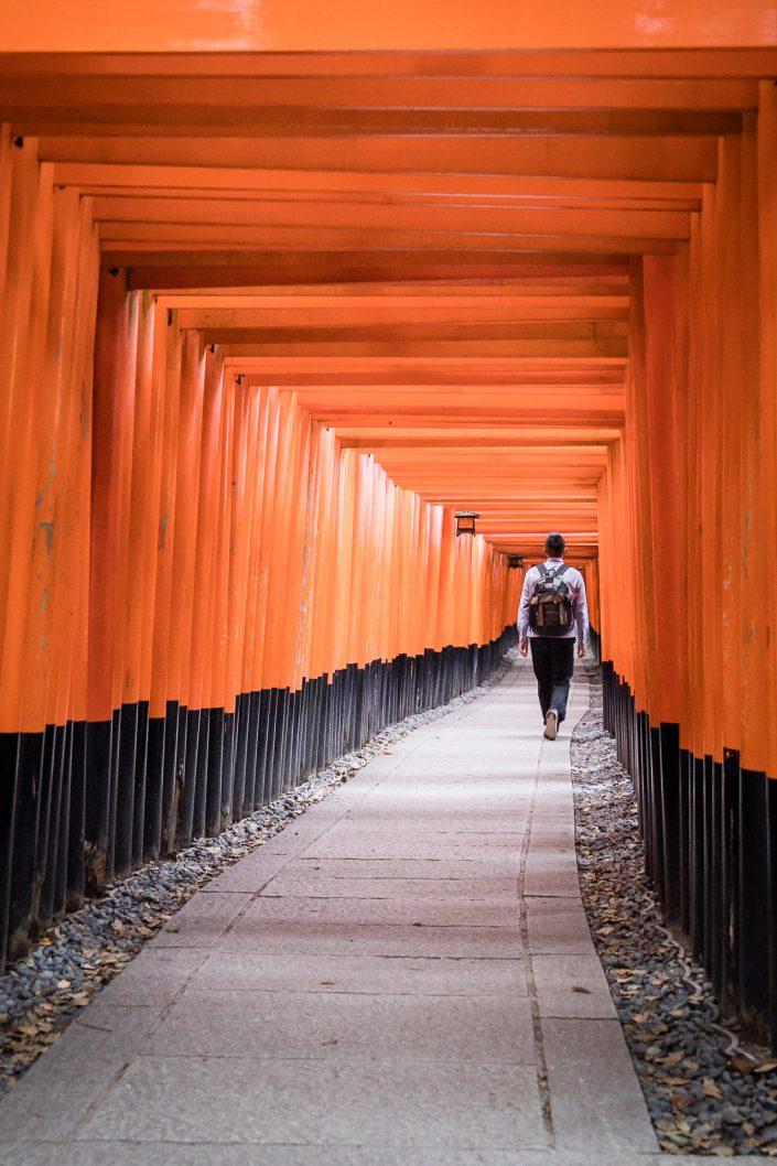 Inari Schrein, Kyoto. Bild von MANFRED SODIA photography